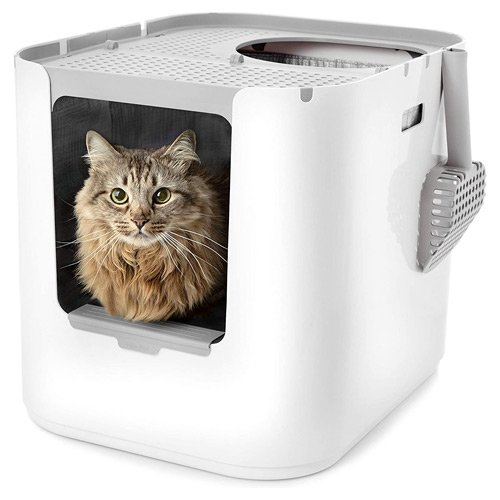 Modkat XL Litter Box Top Entry or Front Entry Configurable