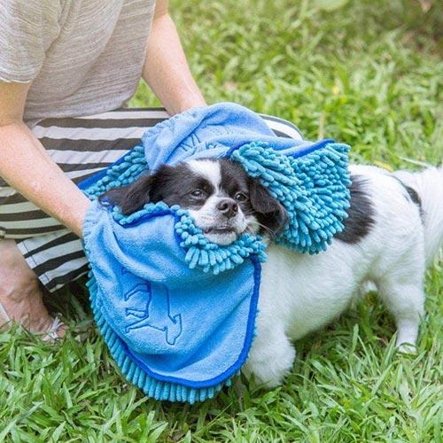 tuff pupper dog shammy towel