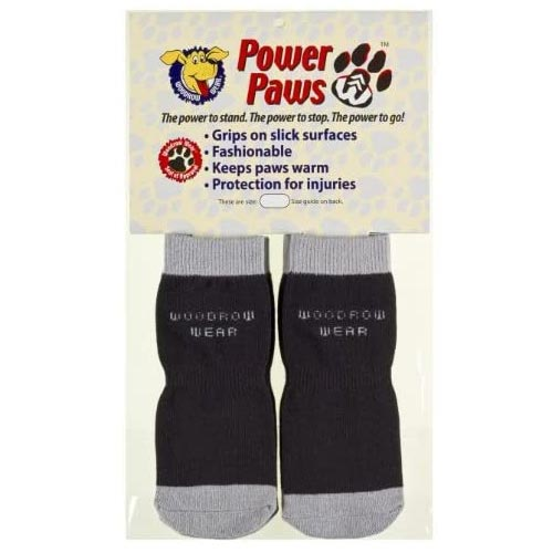 Woodrow Wear Power Paws Dog Traction Socks