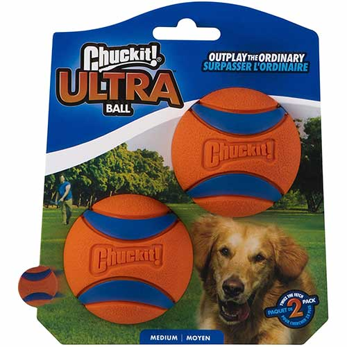 Chuckit Ultra Rubber Dog Ball