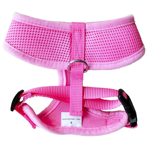 FunPet Soft Mesh Dog Cat Harness No Pull Comfort Padded Vest for Small Pet Cat and Puppy