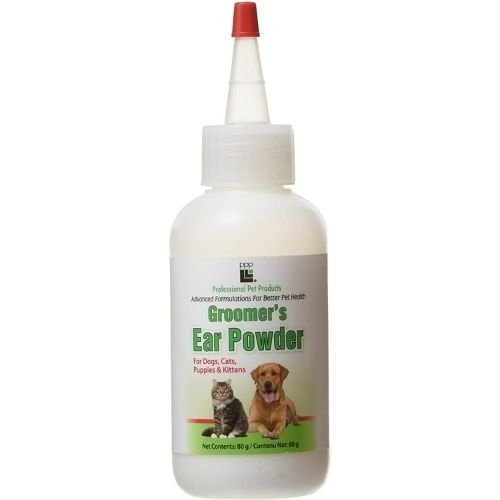 powder for plucking dog ears