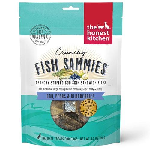 The Honest Kitchen Crunchy Fish Sammies