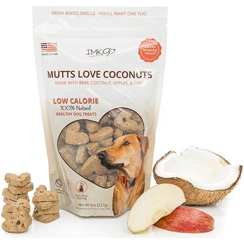 imk9 mutts love coconuts dog treats