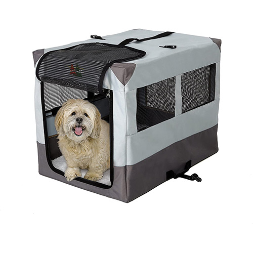 midwest portable tent dog crate