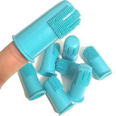 Finger Toothbrush for Pet Teeth