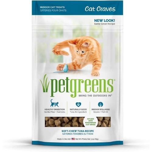 Pet Greens Semi-Moist Cat Crave Treats