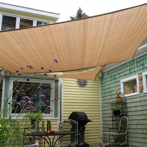 Shade & Beyond sun sail canopy for shade