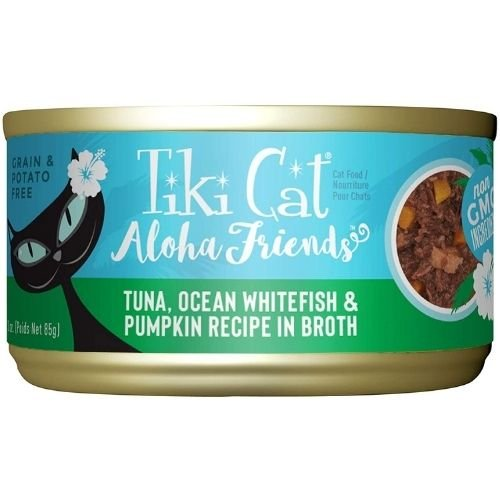 cat food seafood and pumpkin