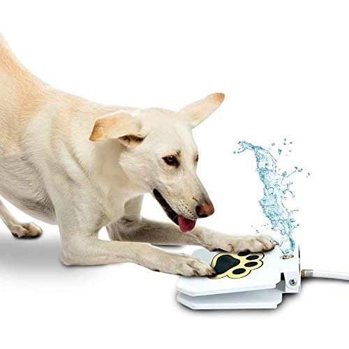 trio gato dog activated water sprinkler