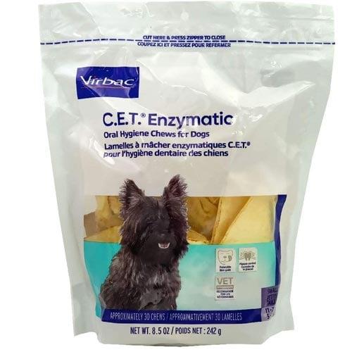 Virbac Enzymatic Oral Hygiene Chews for Small Dogs
