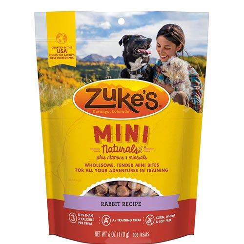 Zuke's Mini Naturals Rabbit Recipe Dog Treats