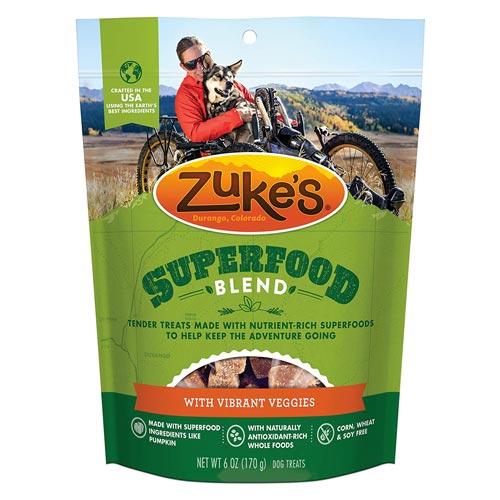 Zukes Superfood Blend Dog Treats