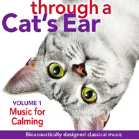 through a cats ear calming music
