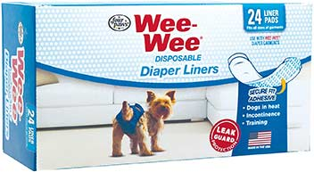 4 Paws Disposable Diaper Liners
